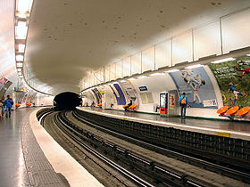 Image illustrative de l'article Pyrénées (métro de Paris)
