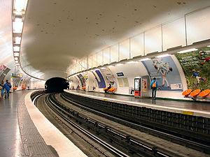 Pyrénées (Paris Métro) - Image: Metro de Paris Ligne 11 Pyrenees 01