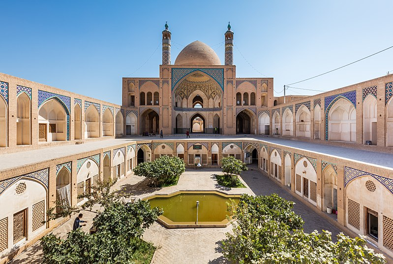 Ficheiro:Mezquita de Agha Bozorg, Kashan, Irán, 2016-09-19, DD 81.jpg