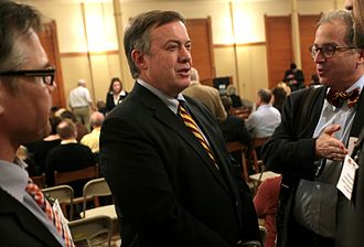 Michael M. Crow - Michael M. Crow at Old Main at Arizona State University in Tempe.