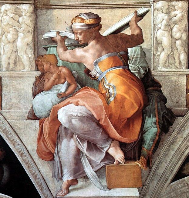 Michelangelo the libyan