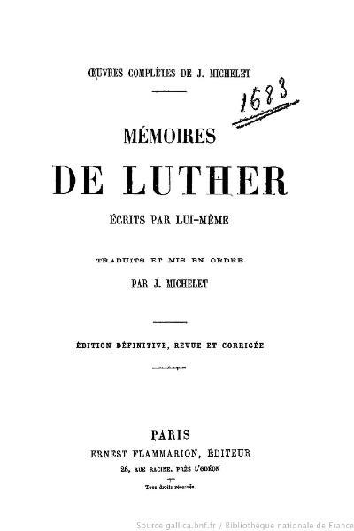 File:Michelet - OC, Mémoires de Luther.djvu