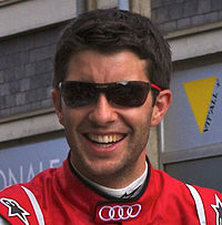 Mike Rockenfeller Le Mans drivers parade 2011 crop.jpg