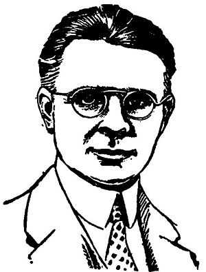 Miles J. Breuer - Miles J. Breuer, as pictured in the January 1930 issue of Science Wonder Stories