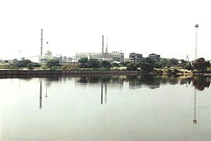 Karur - Mill view of TNPL, Karur