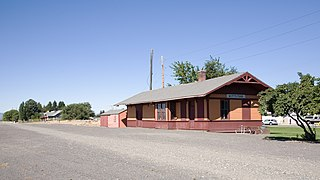 Chicago, Milwaukee, St. Paul & Pacific Railroad-Kittitas Depot United States historic place