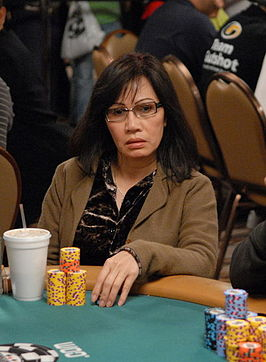 Tran tijdens de World Series of Poker 2007