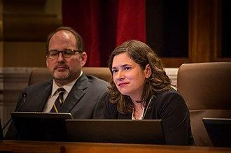 Lisa Bender - Image: Minneapolis City Council Member Lisa Bender (23389785949)