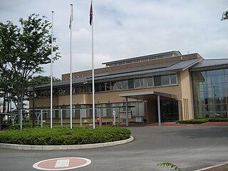 Miyashiro, Saitama Town in Kantō, Japan