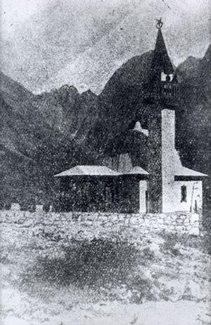 Log pod Mangartom Mosque - Image: Mošeja Log pod Mangartom 3