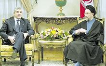 Casini, presidente della Camera, nel 2002 con il presidente della Repubblica Islamica dell'Iran, Mohammad Khatami.