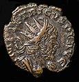 Moneda romana del emperador Tetricus I.jpg