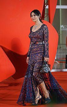 Sul tappeto rosso della 73ª Mostra internazionale d'arte cinematografica di Venezia il 10 settembre 2016.