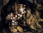 Monnoyer, Jean-Baptiste - Still-Life of Flowers and Fruits - 1665.png