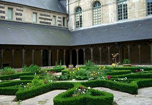 Montivilliers - The abbey cloisters