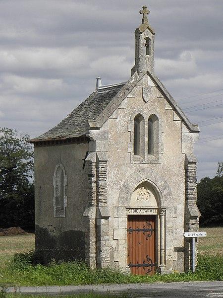 Chapelle Saint-Armel de Montreuil-sous-Pérouse (35).