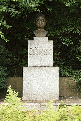 Jakub Bart-Ćišinski - Bust of Jakub Bart-Ćišinski in Panschwitz-Kuckau, Saxony