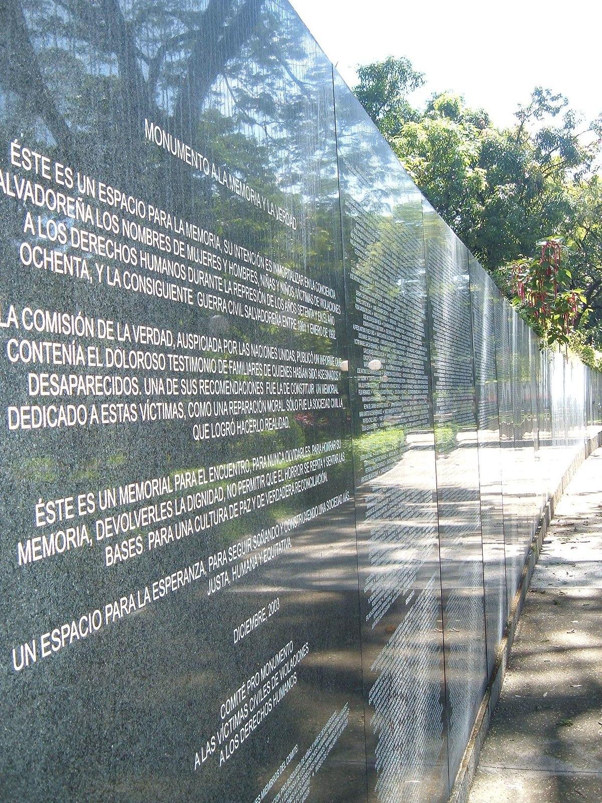 Víctimas de la Guerra Civil de El Salvador - Wikipedia, la ...