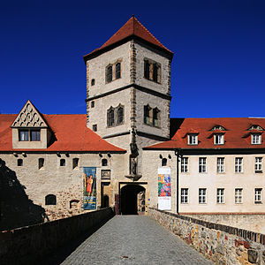 Moritzburg (Halle) - Moritzburg, main gate