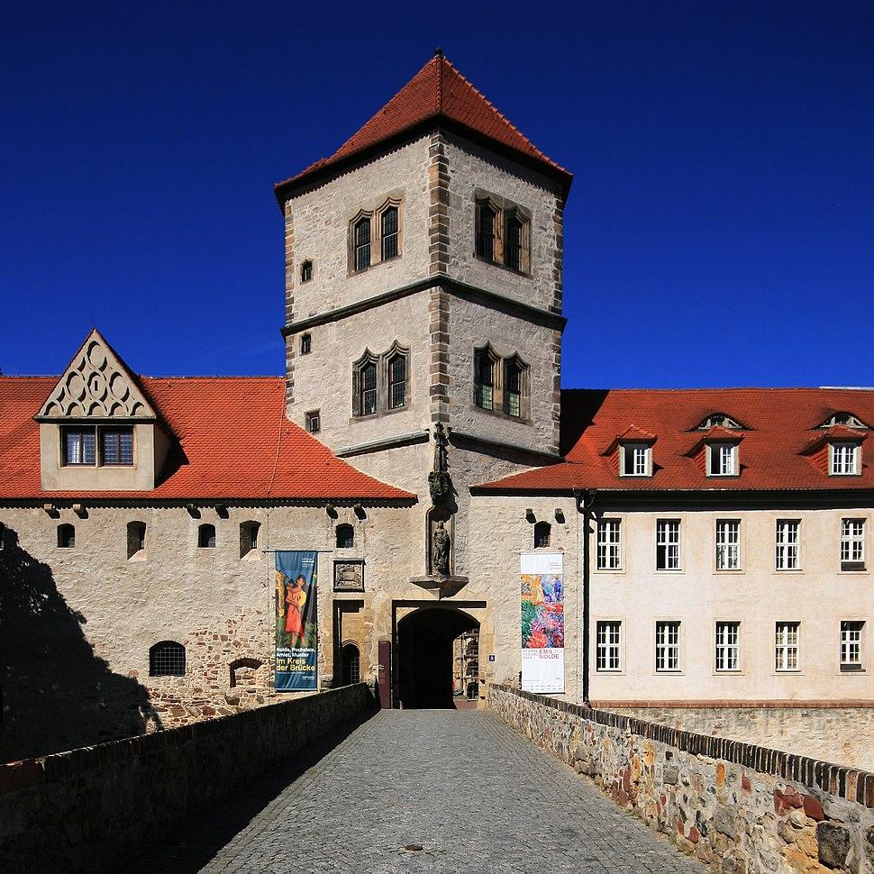 Moritzburg, Burgtor als Hauptzugang