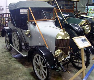 Morris Oxford bullnose - Oxford 2-seater 1913