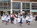 Morris dancers in Rose Square, Canterbury - geograph.org.uk - 1283585.jpg
