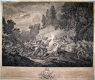 Battle of Kloster Kampen - Death of Nicolas-Louis d'Assas at Kloster Kampen