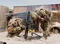 Mortar Team Fires on Afghan Insurgents MOD 45151891.jpg
