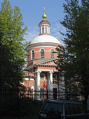 Pyatnitskoye cemetery - Trinity Church in the cemetery