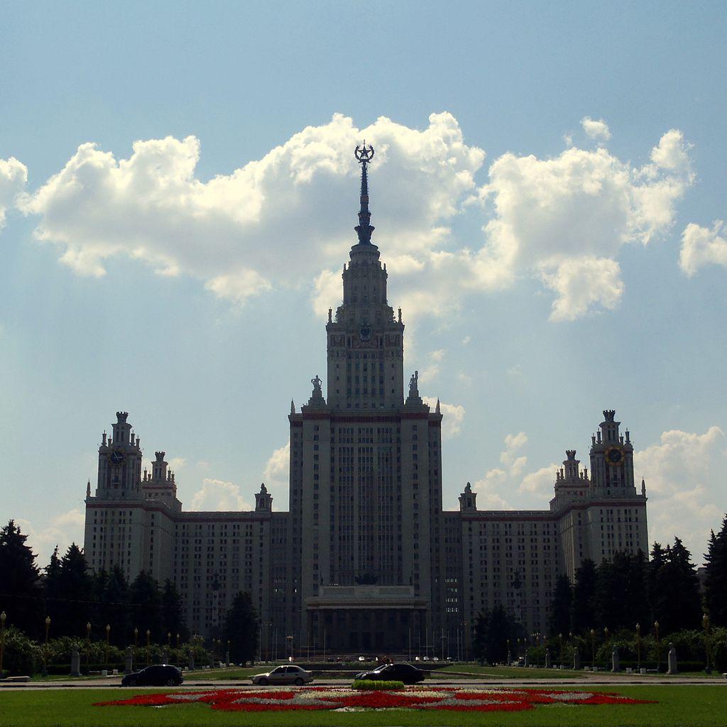 Hauptgebäude der Moskauer Universität