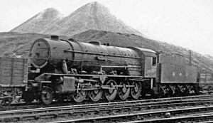 WD Austerity 2-10-0 - Image: Motherwell Locomotive Yard War Department 2 10 0 geograph 2755968 by Ben Brooksbank