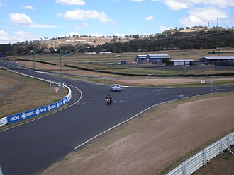 Mount Panorama Circuit - The public entrance to the Circuit at Murray's Corner.