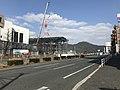 Mount Tachibanayama and Japan National Route 3.jpg