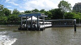 Mowbray Park ferry wharf