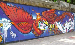 Would you consider graffiti as a form of art?