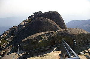 Mount Buffalo National Park - Rocks forming The Horn on Mount Buffalo