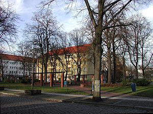Rummelsburg - Image: Muensterlandplatz 2