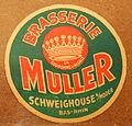 Musée Européen de la Bière, Beer coaster pic-126.JPG
