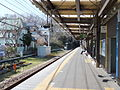 Musashi-Yamato Sta.-platform 20160322.jpg