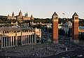 Museu Nacional d'Art de Catalunya and Main Square.jpg