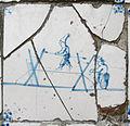Museum Ons' Lieve Heer op Solder - Delftware tile - acrobats.JPG