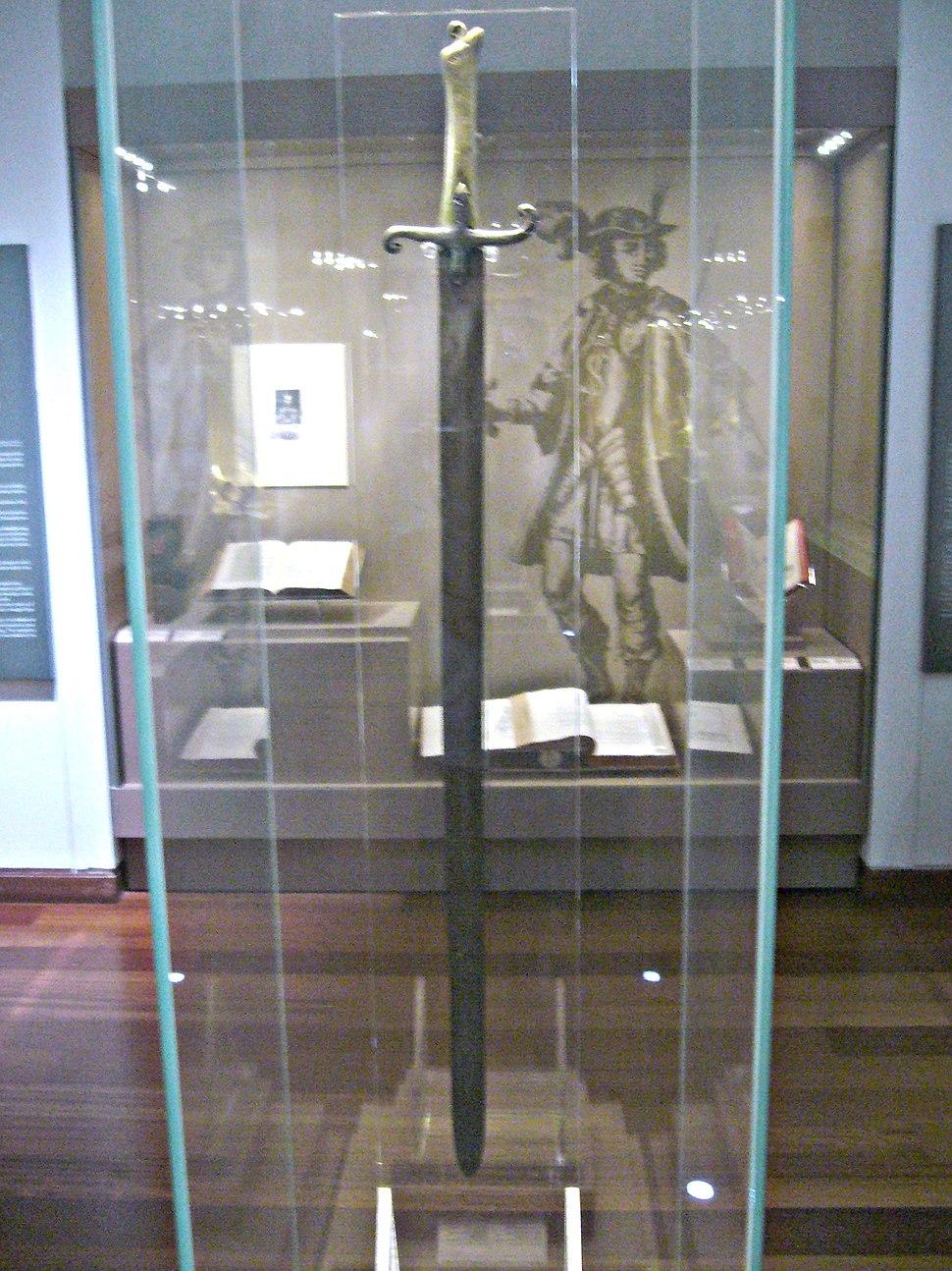 Muzei Leventis-Crusader Sword