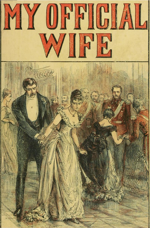 My Official Wife - Cover for 1892 English edition