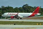N745AV Airbus A320-214 Avianca Columbia (24193463015).jpg