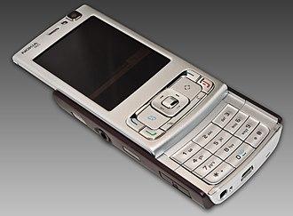 Nokia N95 - The Nokia N95 open