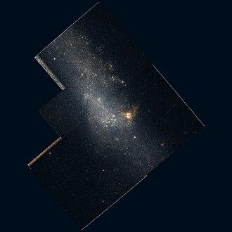 NGC 4656 and NGC 4657 - Image: NGC4656 hst R814GB450