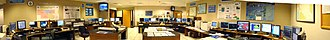 National Hurricane Center - A panoramic view of TAFB's operations at the NHC prior to being remodeled