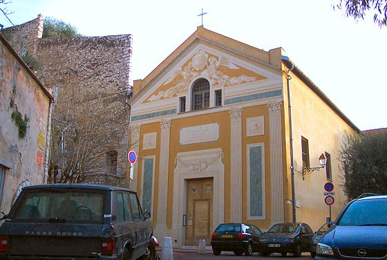 Chapelle de la Visitation или chapelle de la Providence - часовня Визитасьон - церкви Ниццы, достопримечательности Ниццы