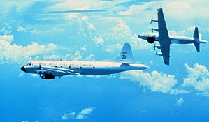 The Hurricane Rainband and Intensity Change Experiment - Two NOAA P-3 aircraft equipped with Doppler radar