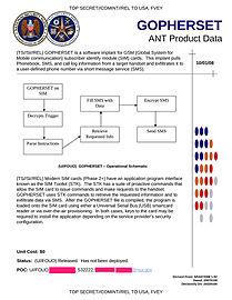 NSA GOPHERSET